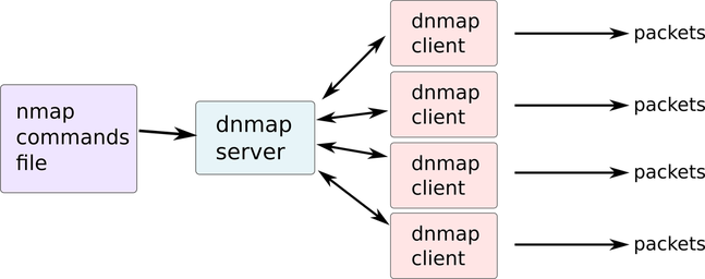 Picture Dnmap-client and Dnmap-server